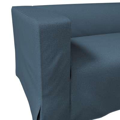 Pokrowiec na sofę Klippan 2-osobową długi z kontrafałdami w kolekcji Etna, tkanina: 705-30