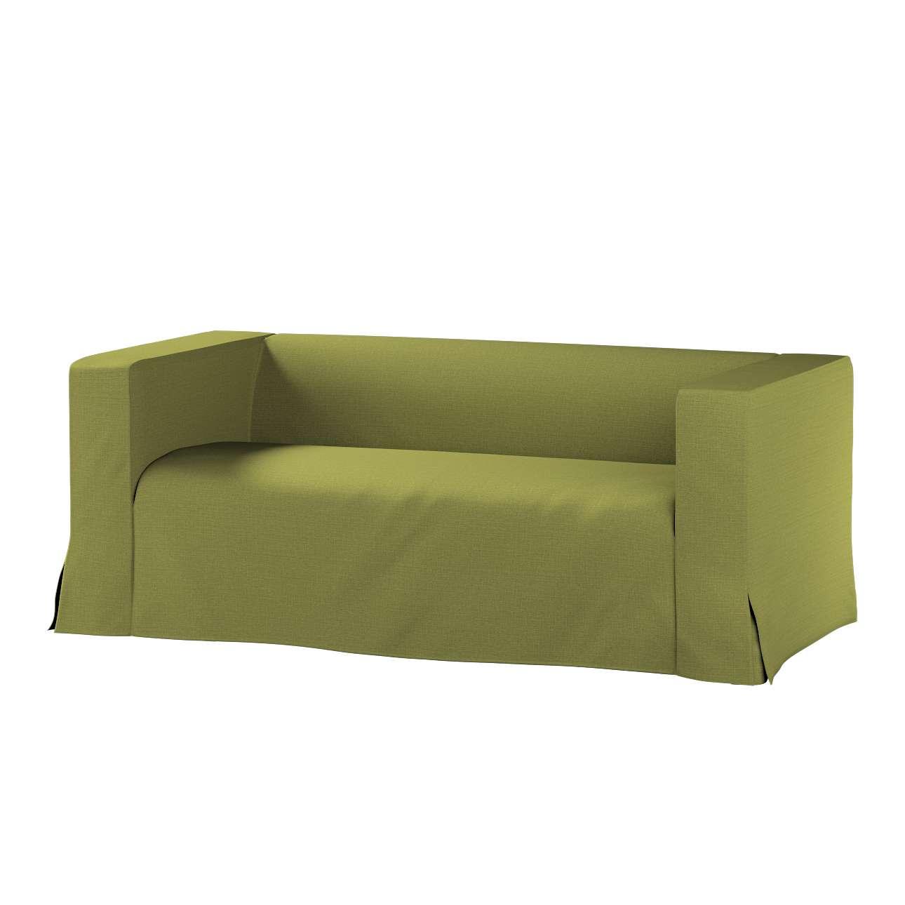 Pokrowiec na sofę Klippan 2-osobową długi z kontrafałdami w kolekcji Living II, tkanina: 161-13