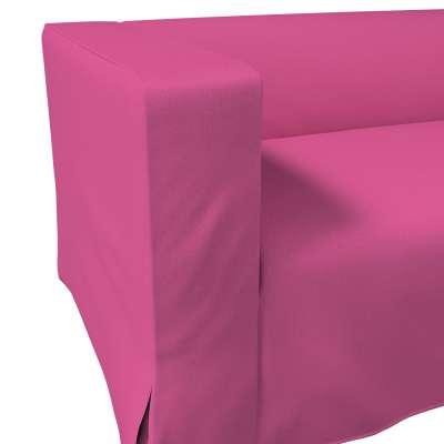 Pokrowiec na sofę Klippan 2-osobową długi z kontrafałdami w kolekcji Living II, tkanina: 161-29