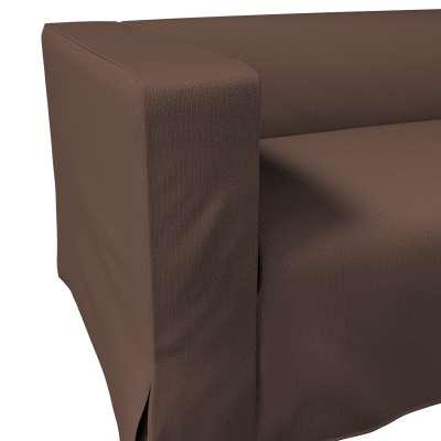 Pokrowiec na sofę Klippan 2-osobową długi z kontrafałdami w kolekcji Bergen, tkanina: 161-73