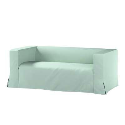 Pokrowiec na sofę Klippan 2-osobową długi z kontrafałdami w kolekcji Living, tkanina: 161-61