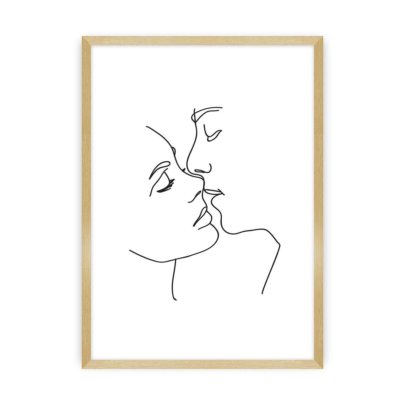 Plakát  Kiss Line
