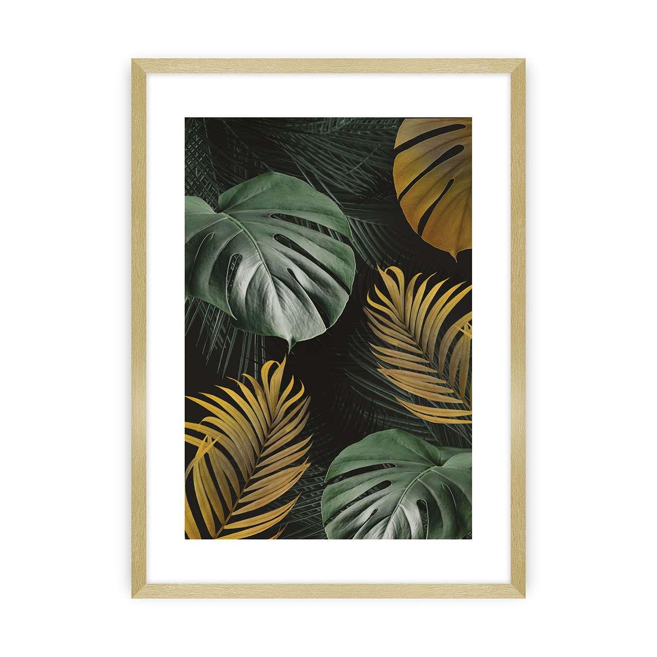 Plakát Golden Leaves I