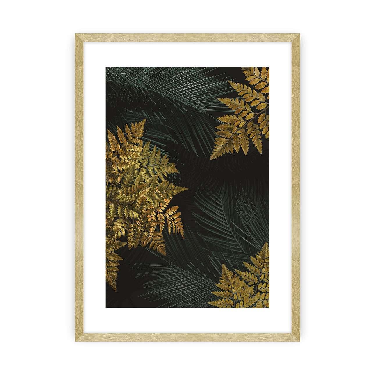 Plakát Golden Leaves II