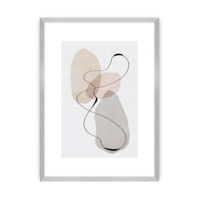 Plakat Abstract Lines I
