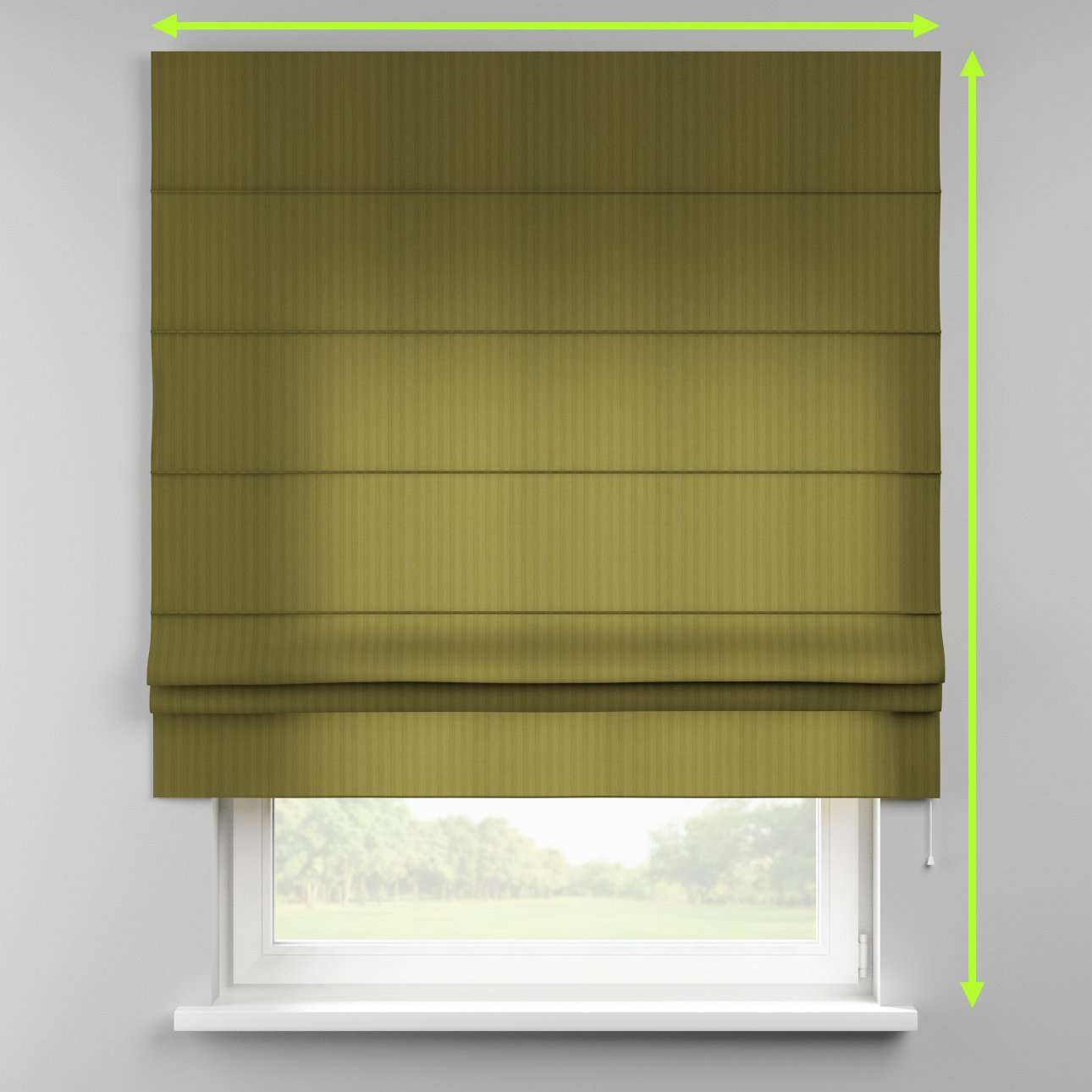 Padva roman blind  in collection Taffeta , fabric: 103-95