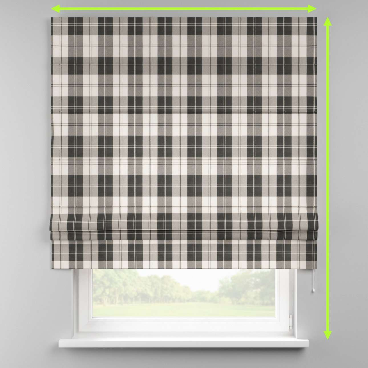 Padva roman blind  in collection Edinburgh , fabric: 115-74