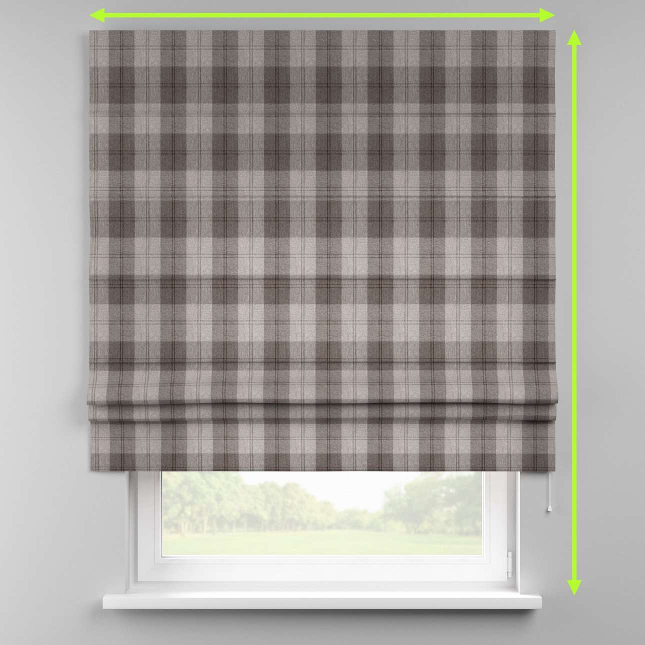 Padva roman blind  in collection Edinburgh , fabric: 115-75