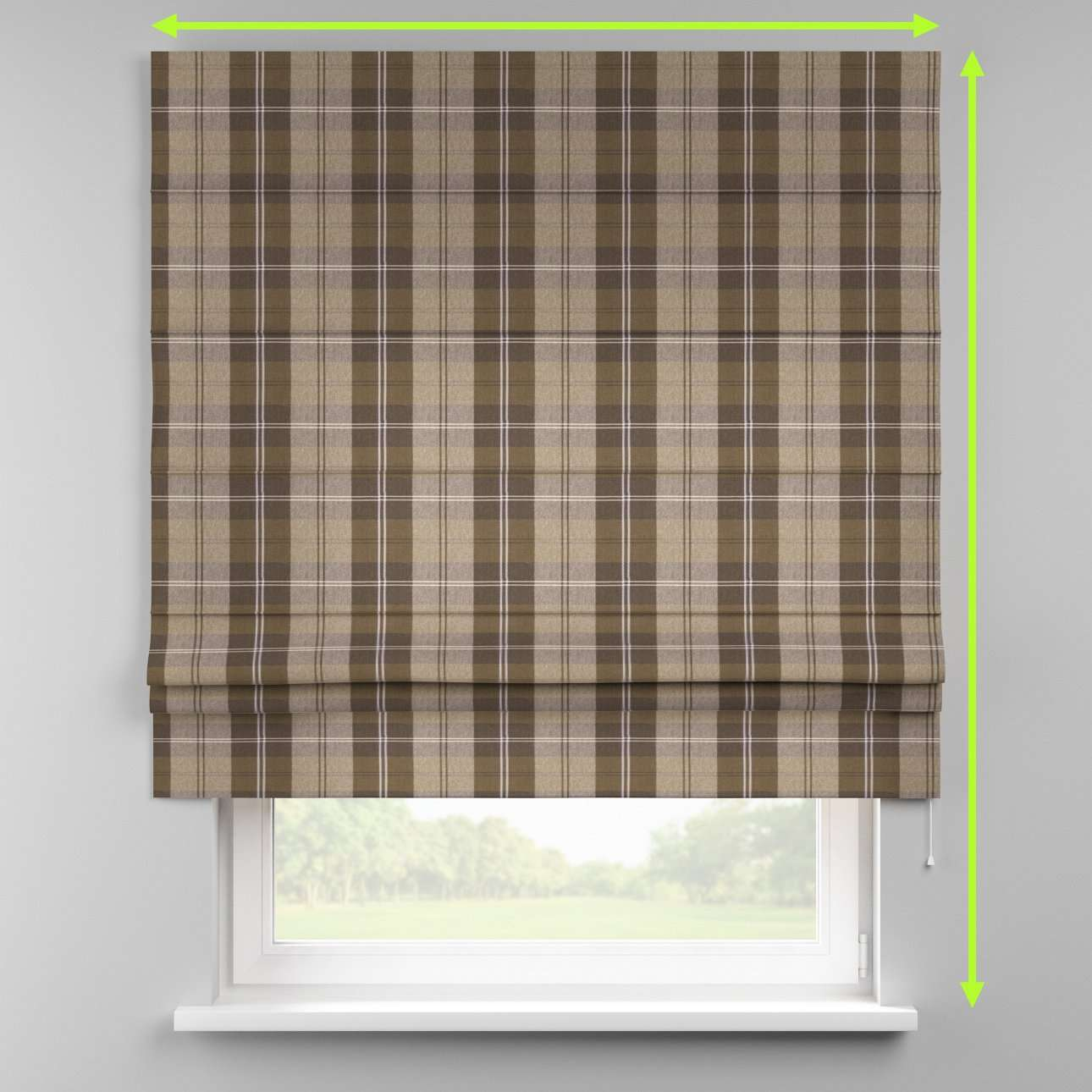 Padva roman blind  in collection Edinburgh , fabric: 115-76