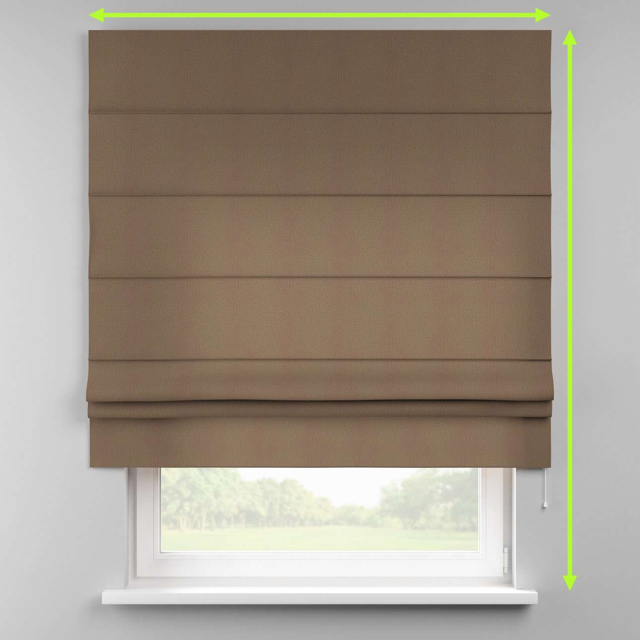 Padva roman blind  in collection Edinburgh , fabric: 115-85