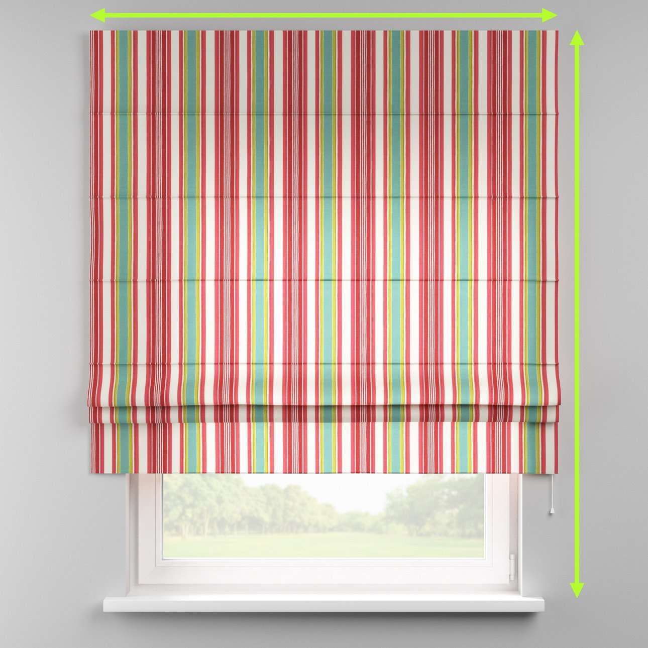 Padva roman blind  in collection Londres, fabric: 122-01
