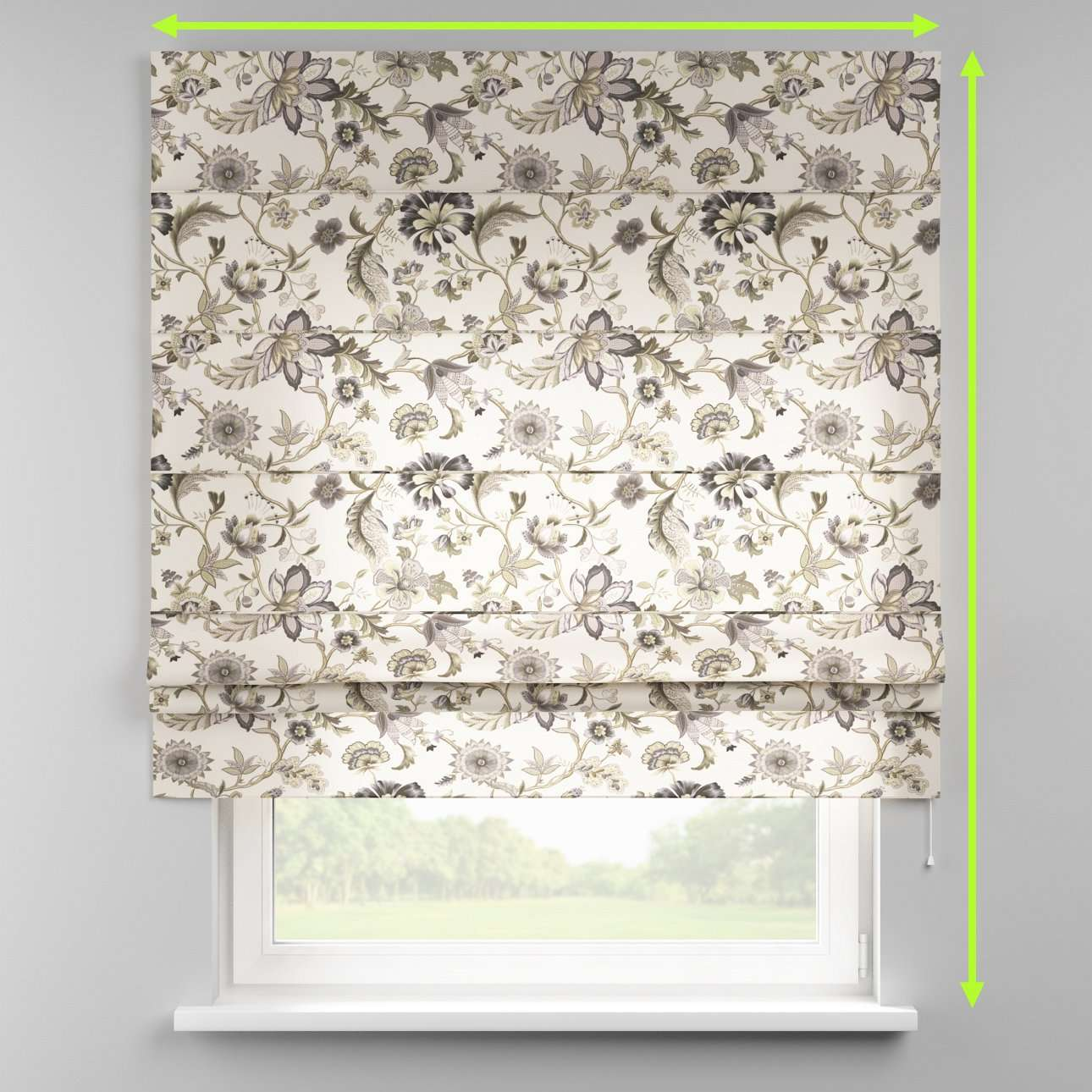 Padva roman blind  in collection Londres, fabric: 122-03