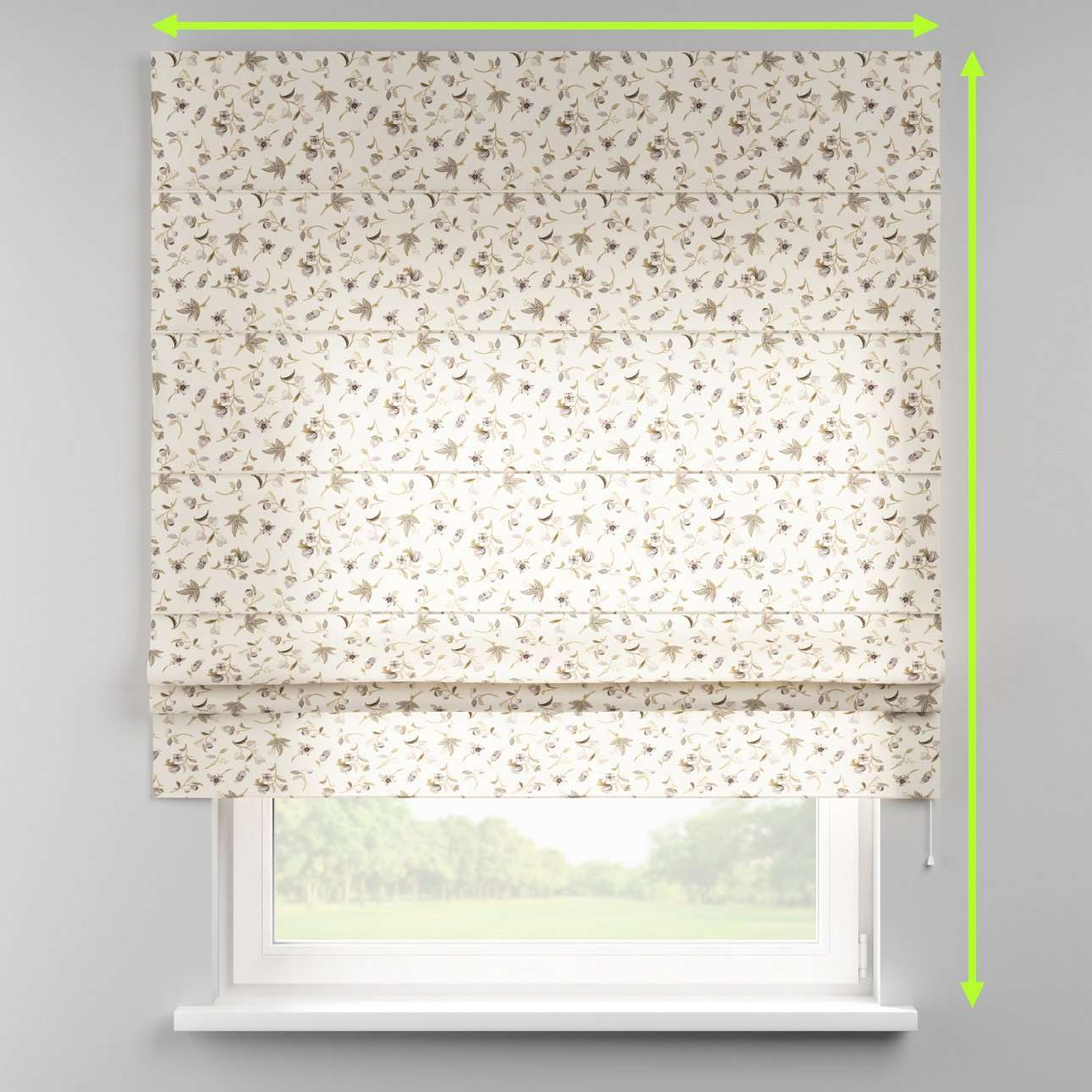 Padva roman blind  in collection Londres, fabric: 122-04
