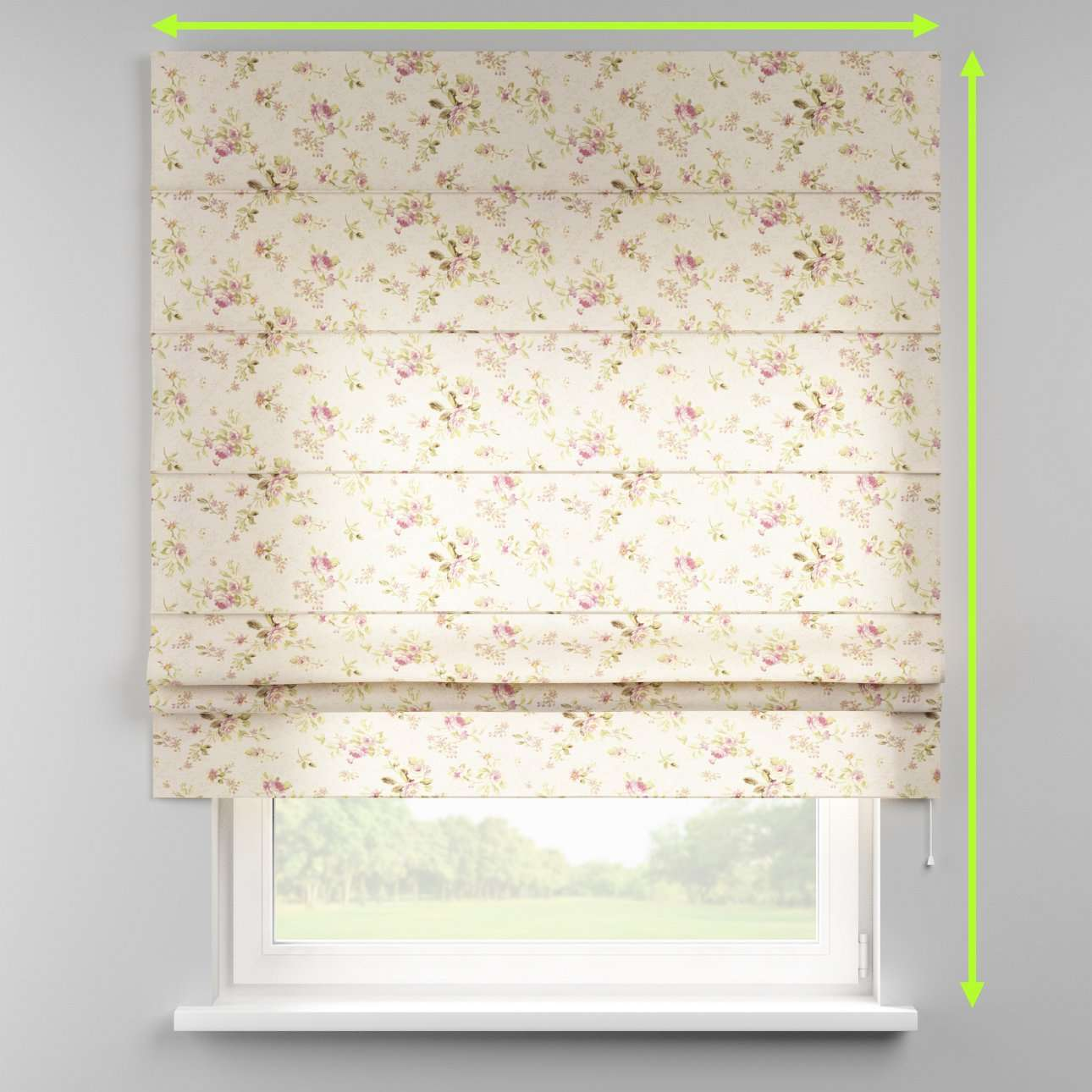 Padva roman blind  in collection Londres, fabric: 122-07