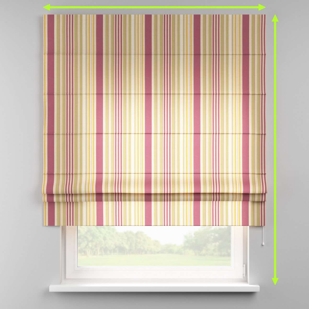 Padva roman blind  in collection Londres, fabric: 122-09