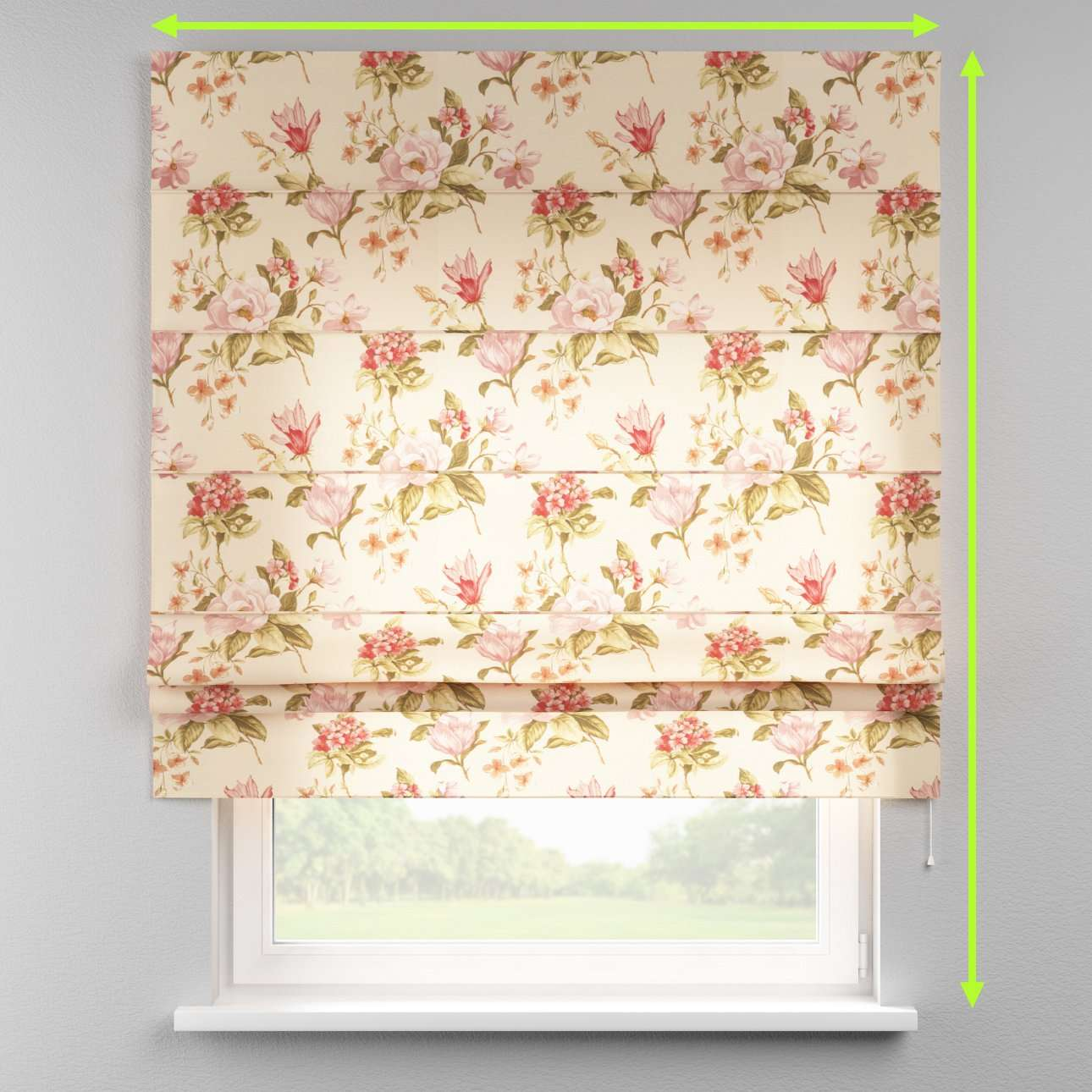 Padva roman blind  in collection Londres, fabric: 123-05