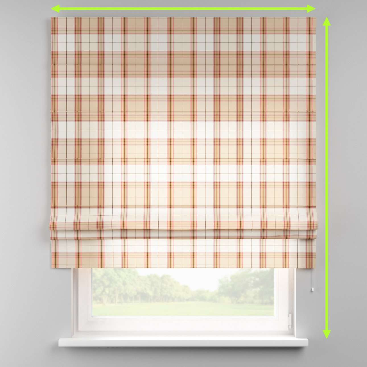 Padva roman blind  in collection Bristol, fabric: 125-09
