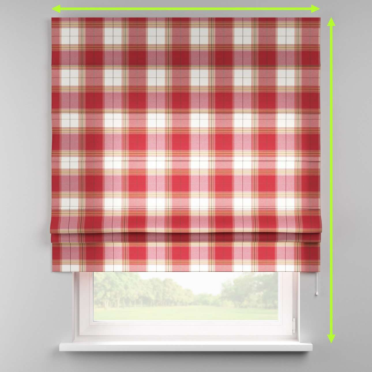 Padva roman blind  in collection Bristol, fabric: 125-15