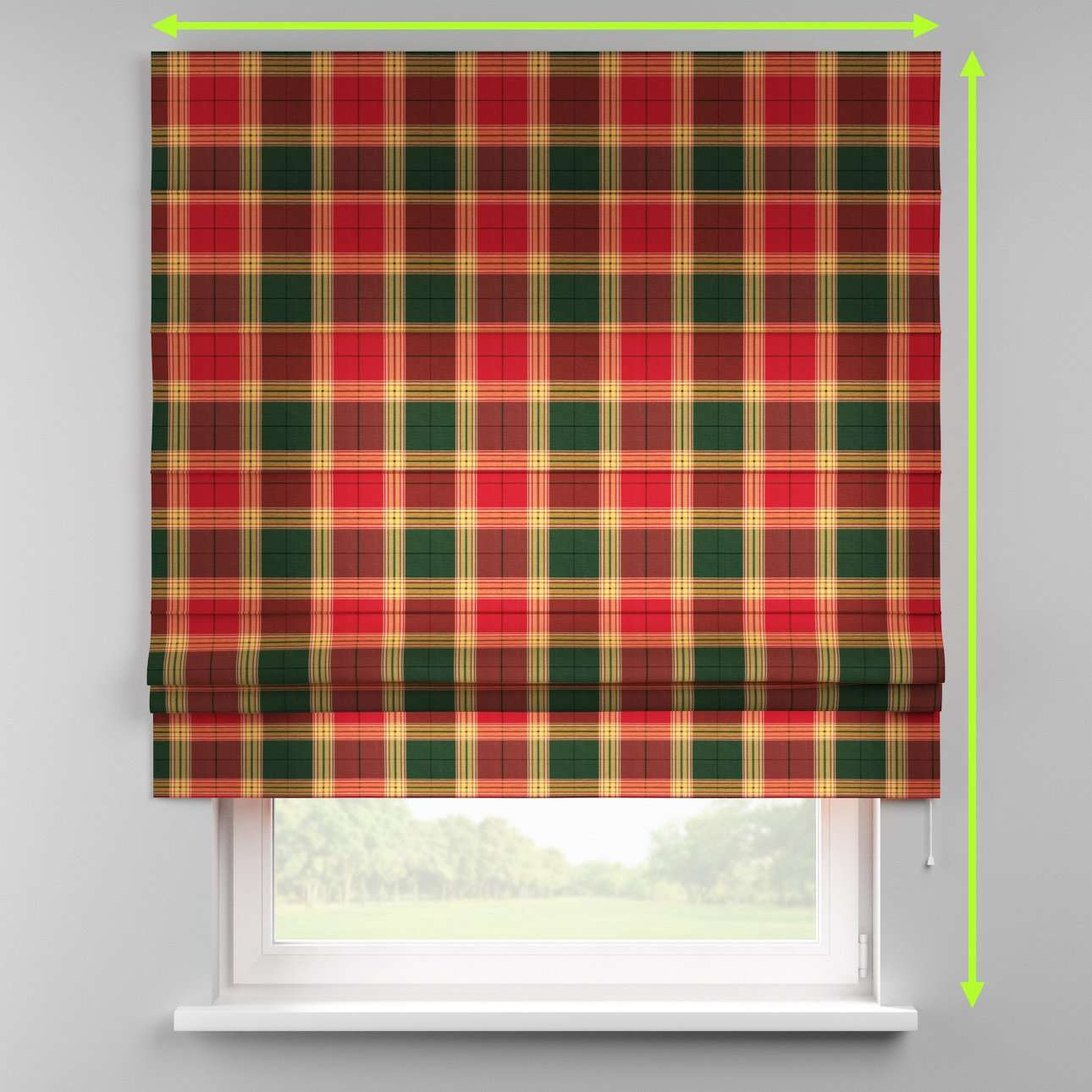 Padva roman blind  in collection Bristol, fabric: 125-48