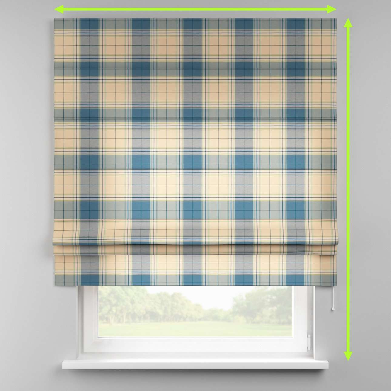 Padva roman blind  in collection Bristol, fabric: 125-69