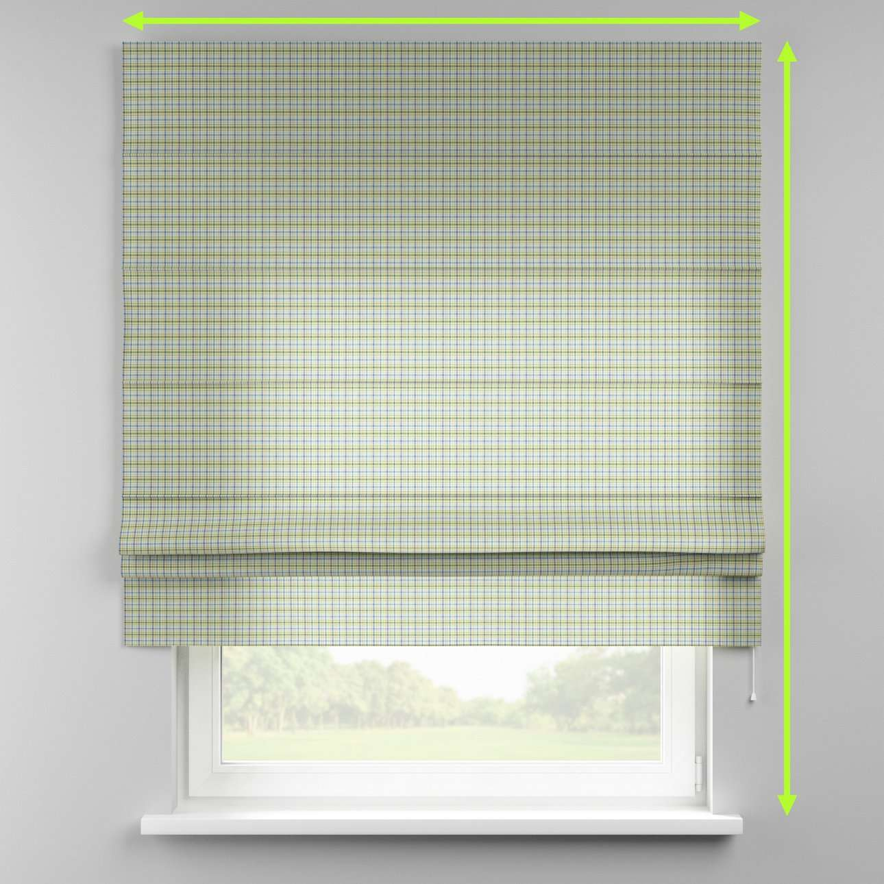 Padva roman blind  in collection Bristol, fabric: 126-69