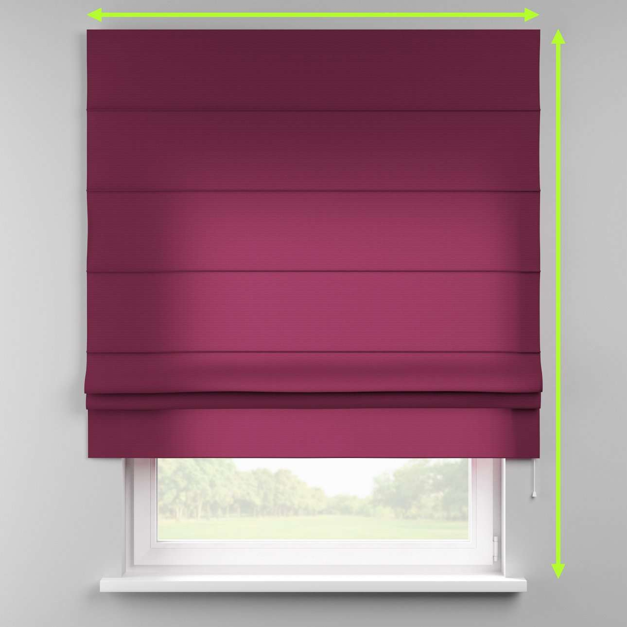 Padva roman blind  in collection Jupiter, fabric: 127-20