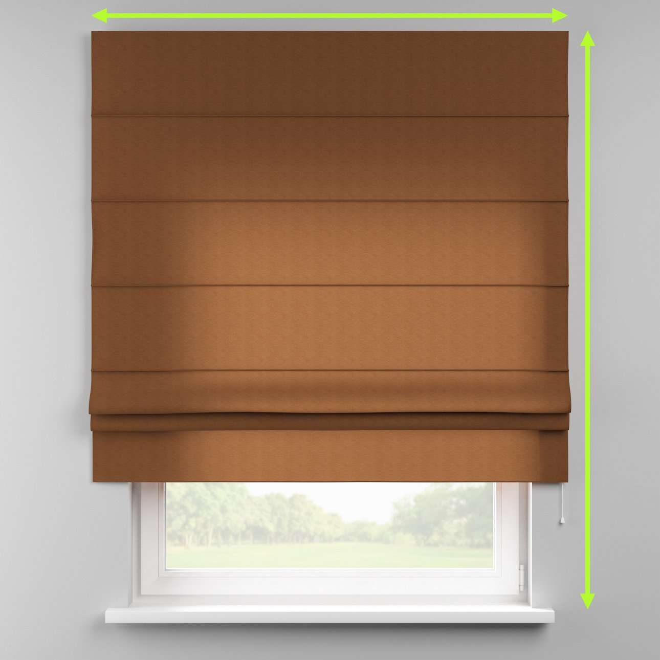 Padva roman blind  in collection Jupiter, fabric: 127-88
