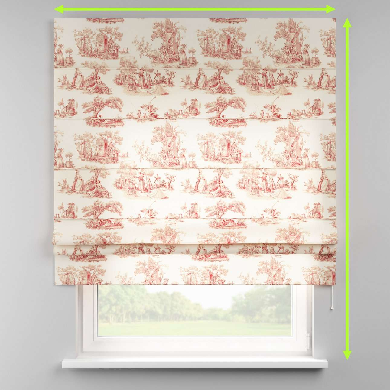 Padva roman blind  in collection Avinon, fabric: 132-15