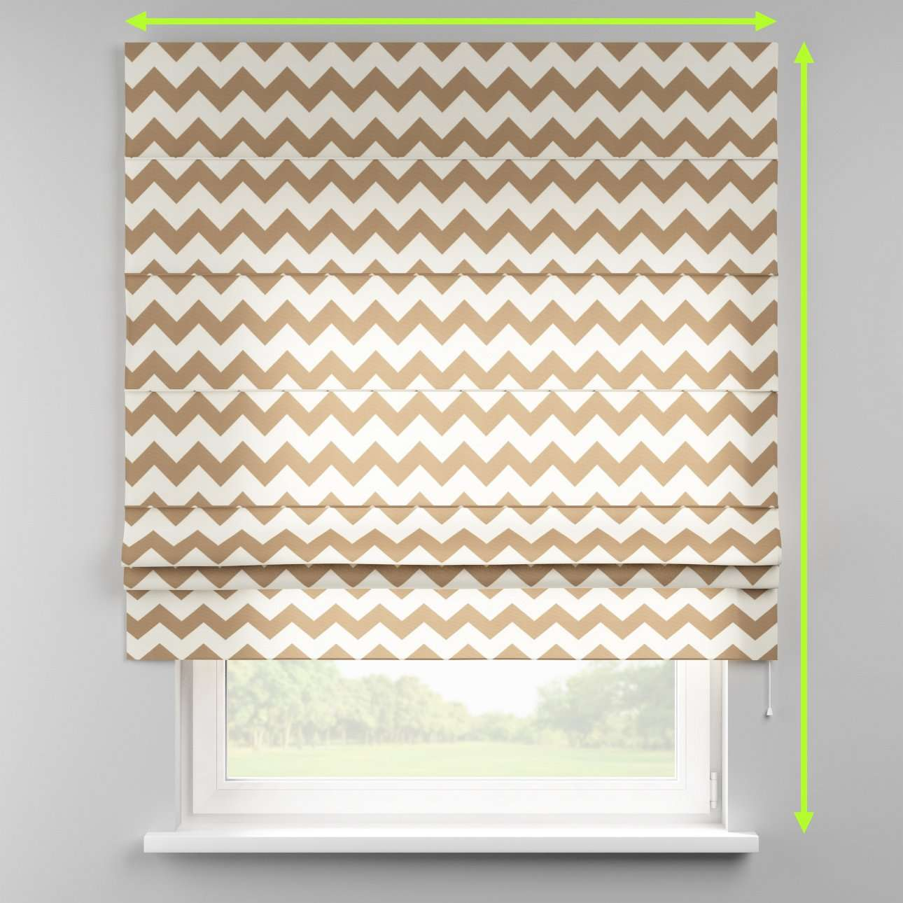 Padva roman blind  in collection Comic Book & Geo Prints, fabric: 135-01