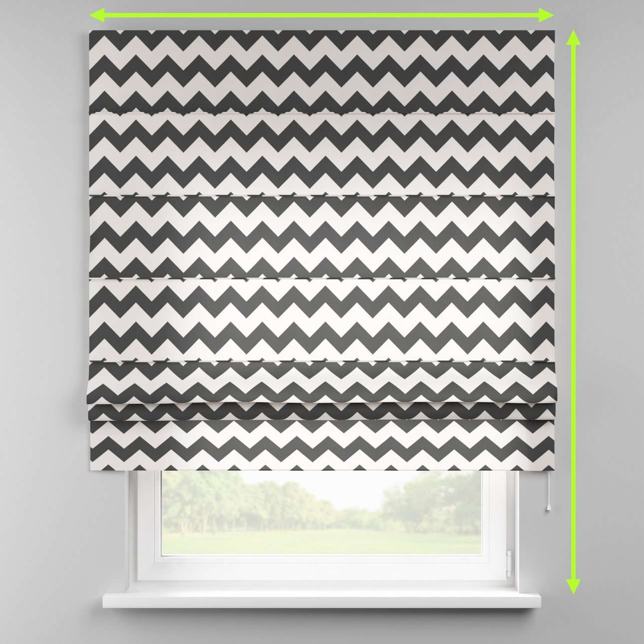 Padva roman blind  in collection Comic Book & Geo Prints, fabric: 135-02