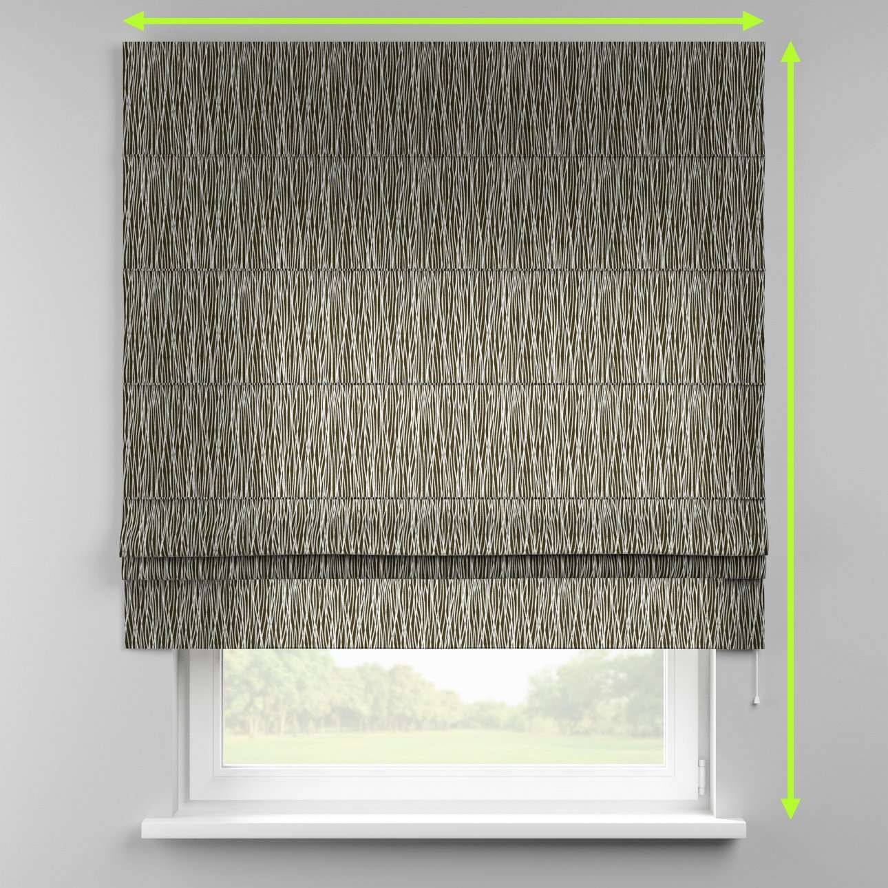 Padva roman blind  in collection Comic Book & Geo Prints, fabric: 135-06