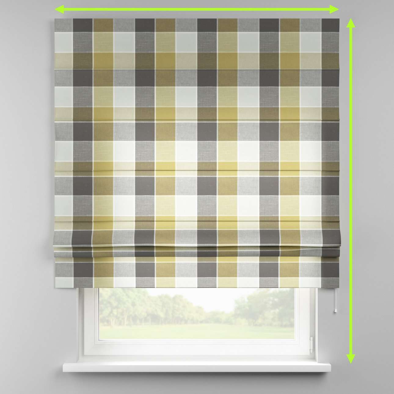 Padva roman blind  in collection Cardiff, fabric: 136-20