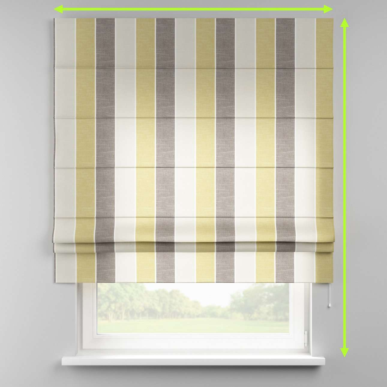 Padva roman blind  in collection Cardiff, fabric: 136-23