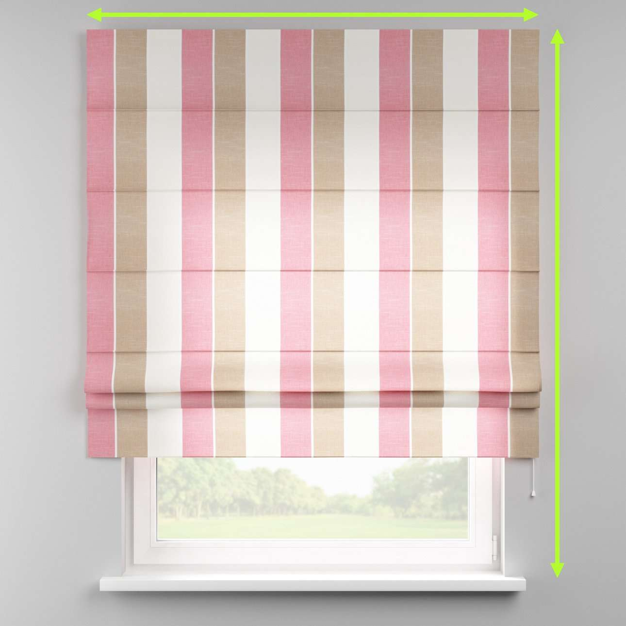 Padva roman blind  in collection Cardiff, fabric: 136-32