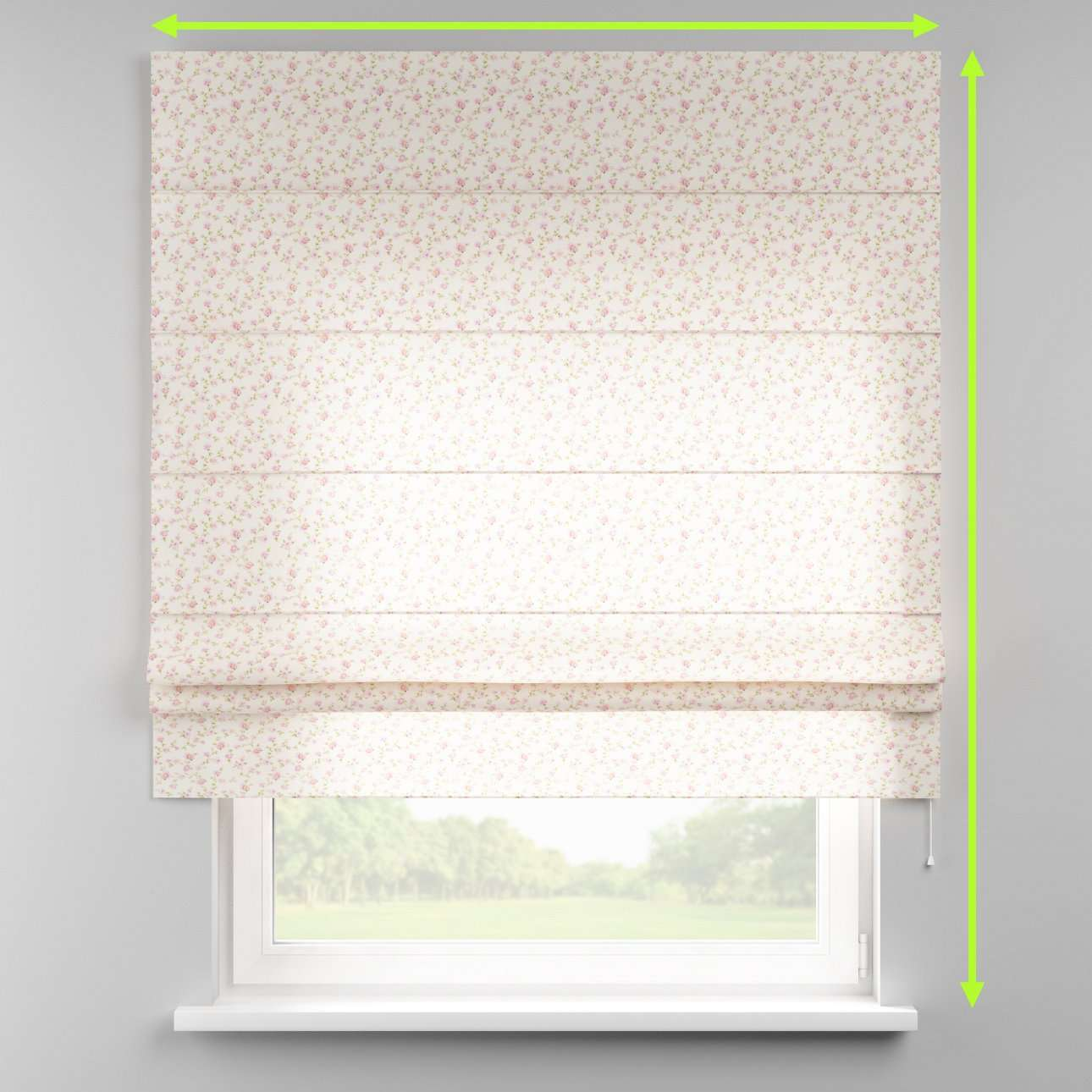 Padva roman blind  in collection Ashley, fabric: 137-45