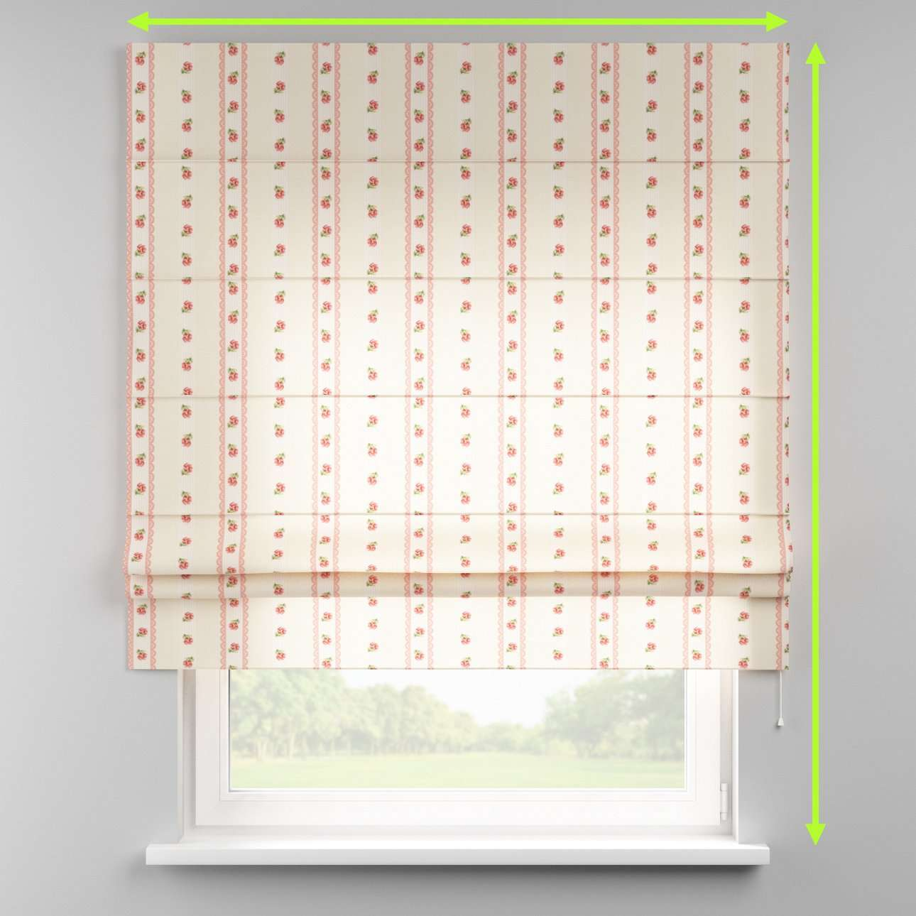 Padva roman blind  in collection Ashley, fabric: 137-48