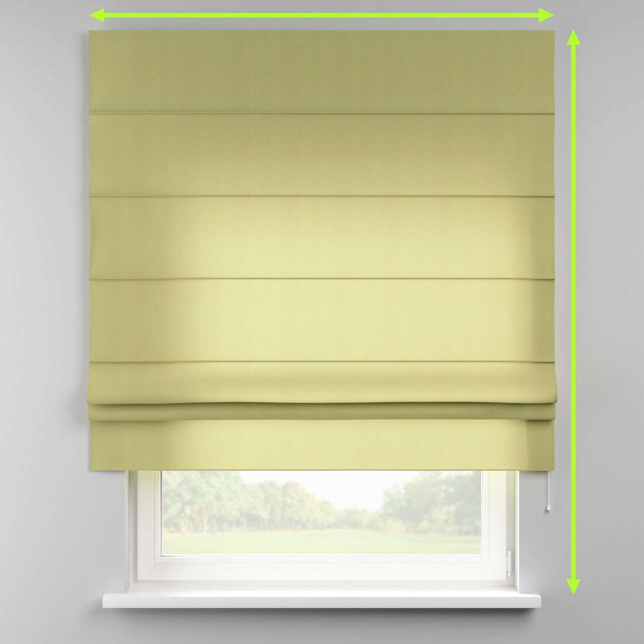 Padva roman blind  in collection Ashley, fabric: 137-51