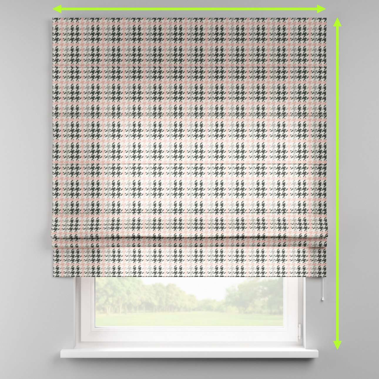 Padva roman blind  in collection Brooklyn, fabric: 137-75