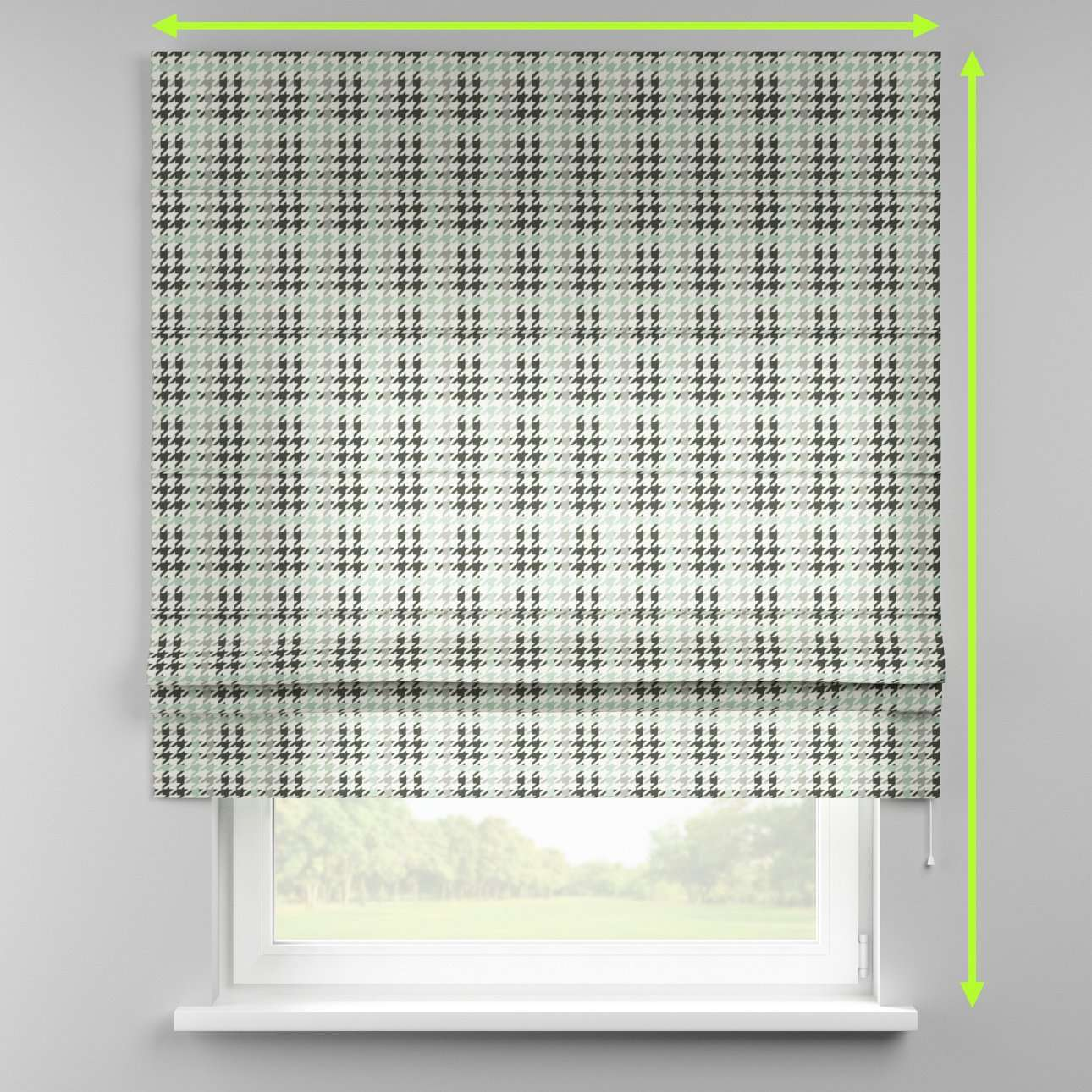 Padva roman blind  in collection Brooklyn, fabric: 137-77