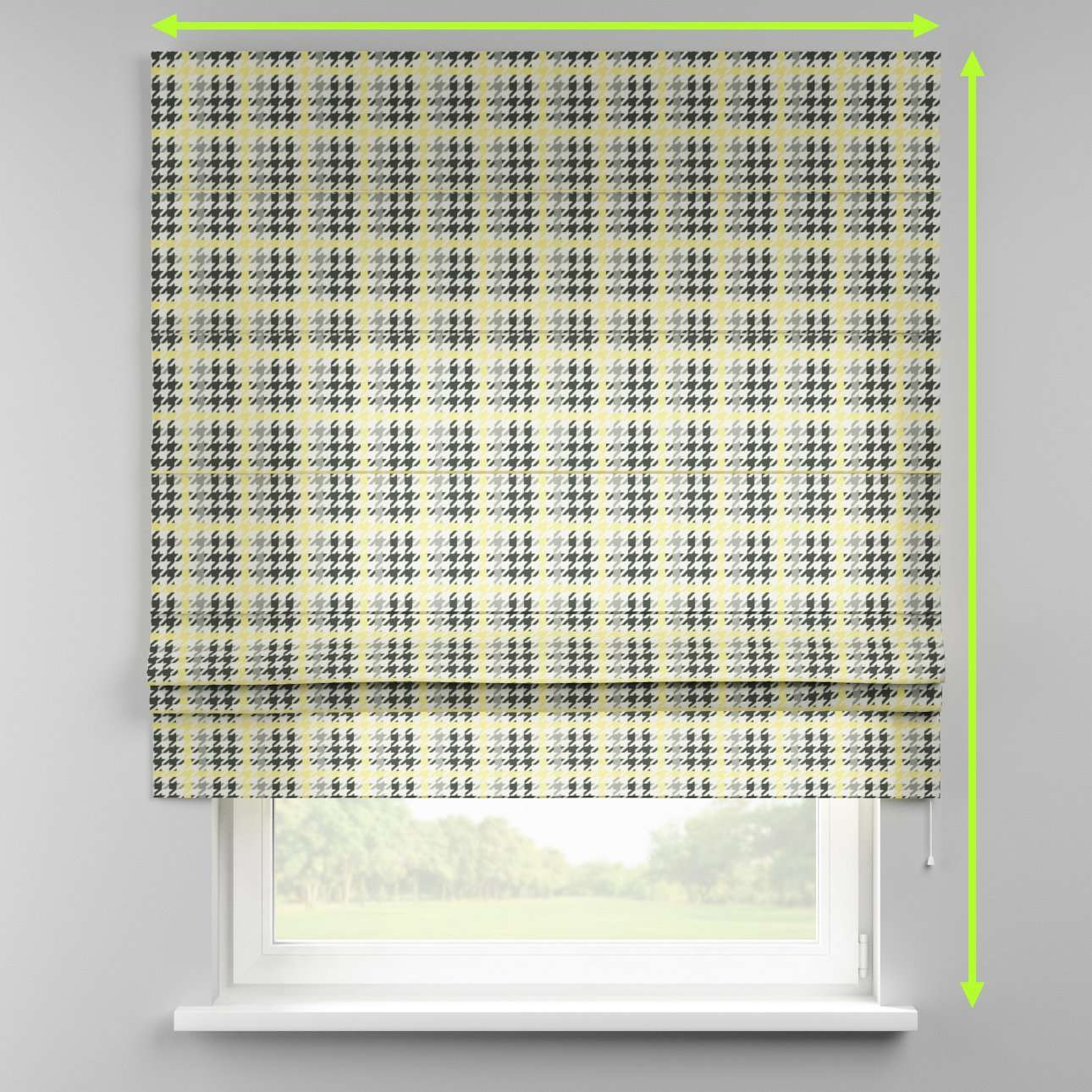 Padva roman blind  in collection Brooklyn, fabric: 137-79