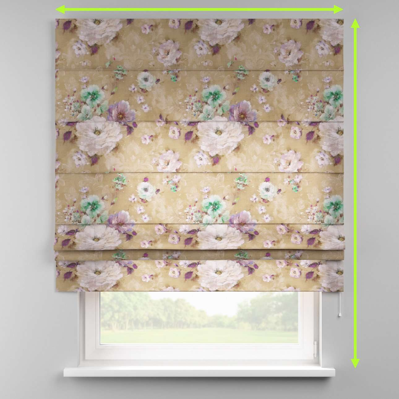 Padva roman blind  in collection Monet, fabric: 137-82