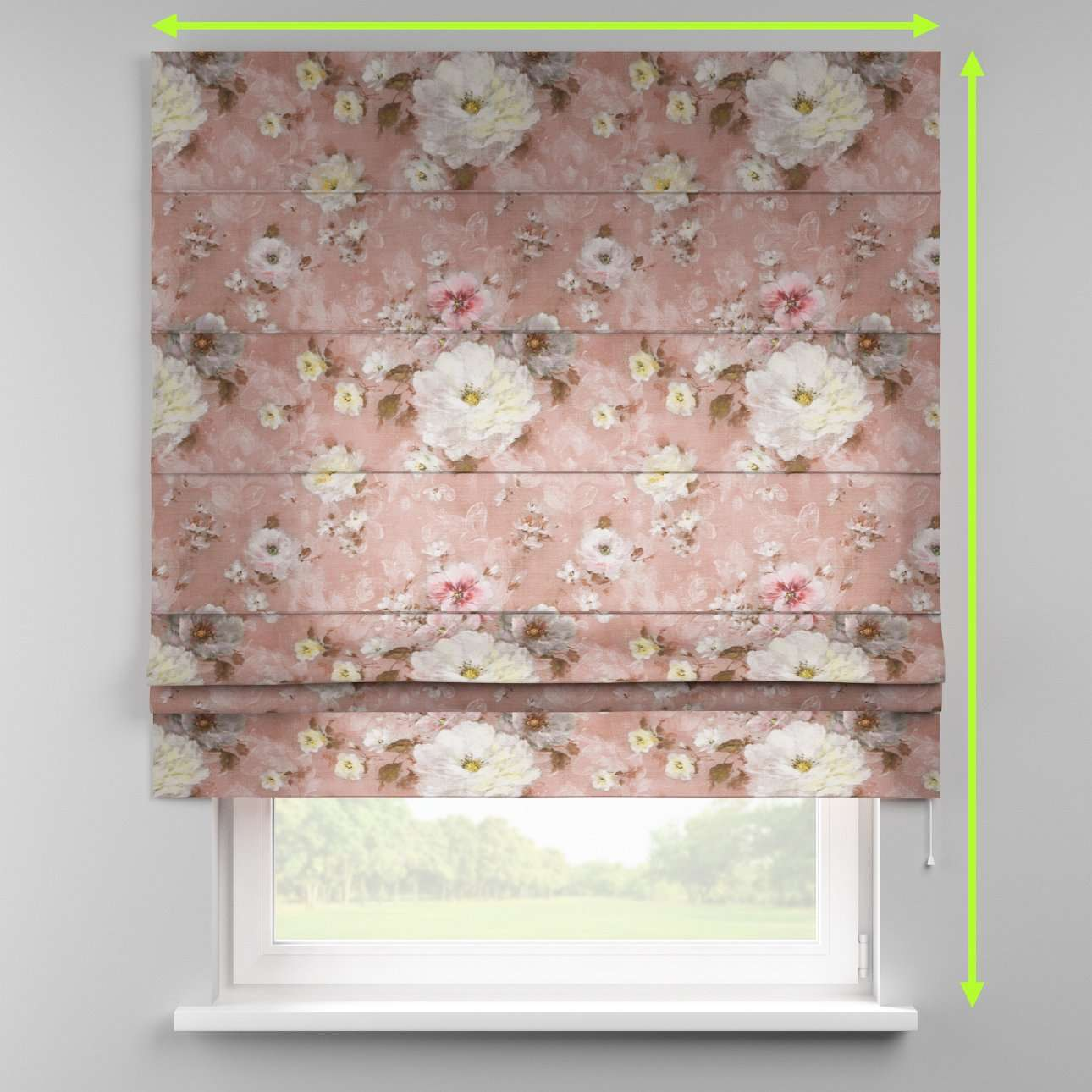 Padva roman blind  in collection Monet, fabric: 137-83