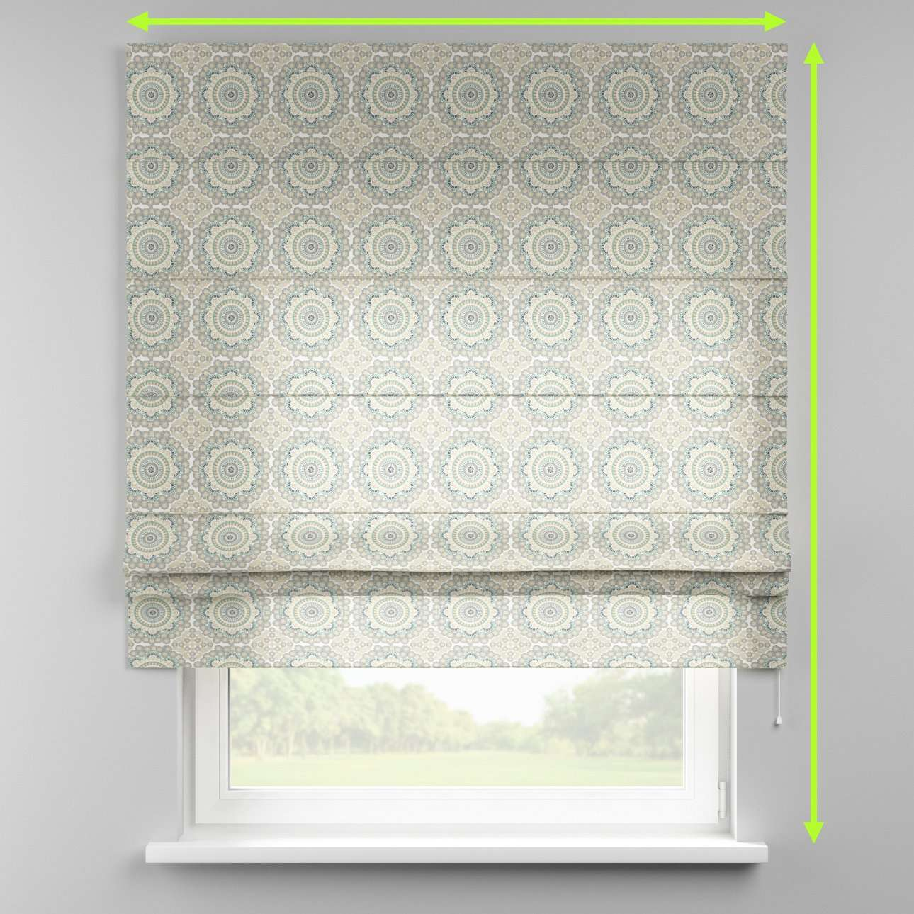 Padva roman blind  in collection Comic Book & Geo Prints, fabric: 137-84