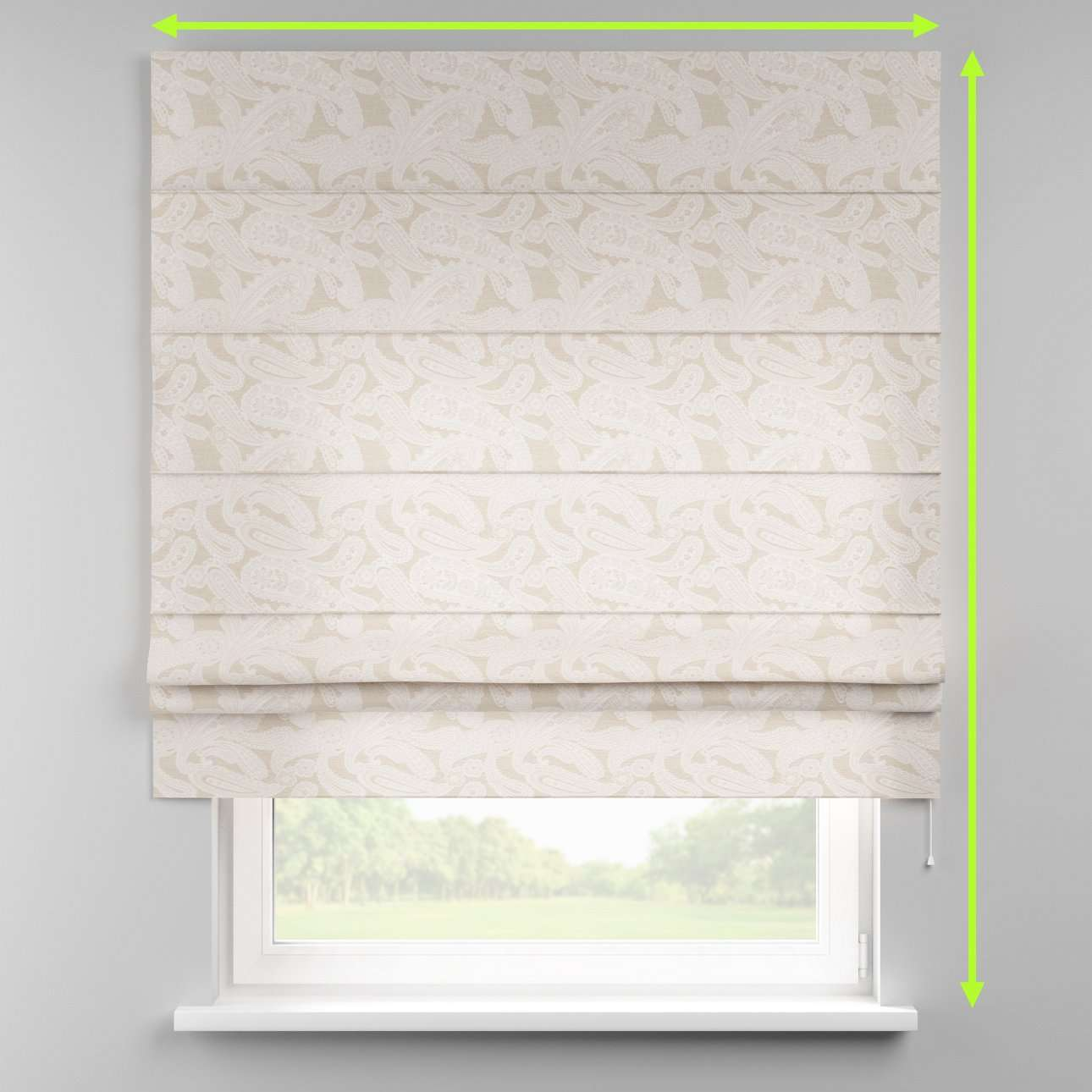 Padva roman blind  in collection Rustica, fabric: 138-10