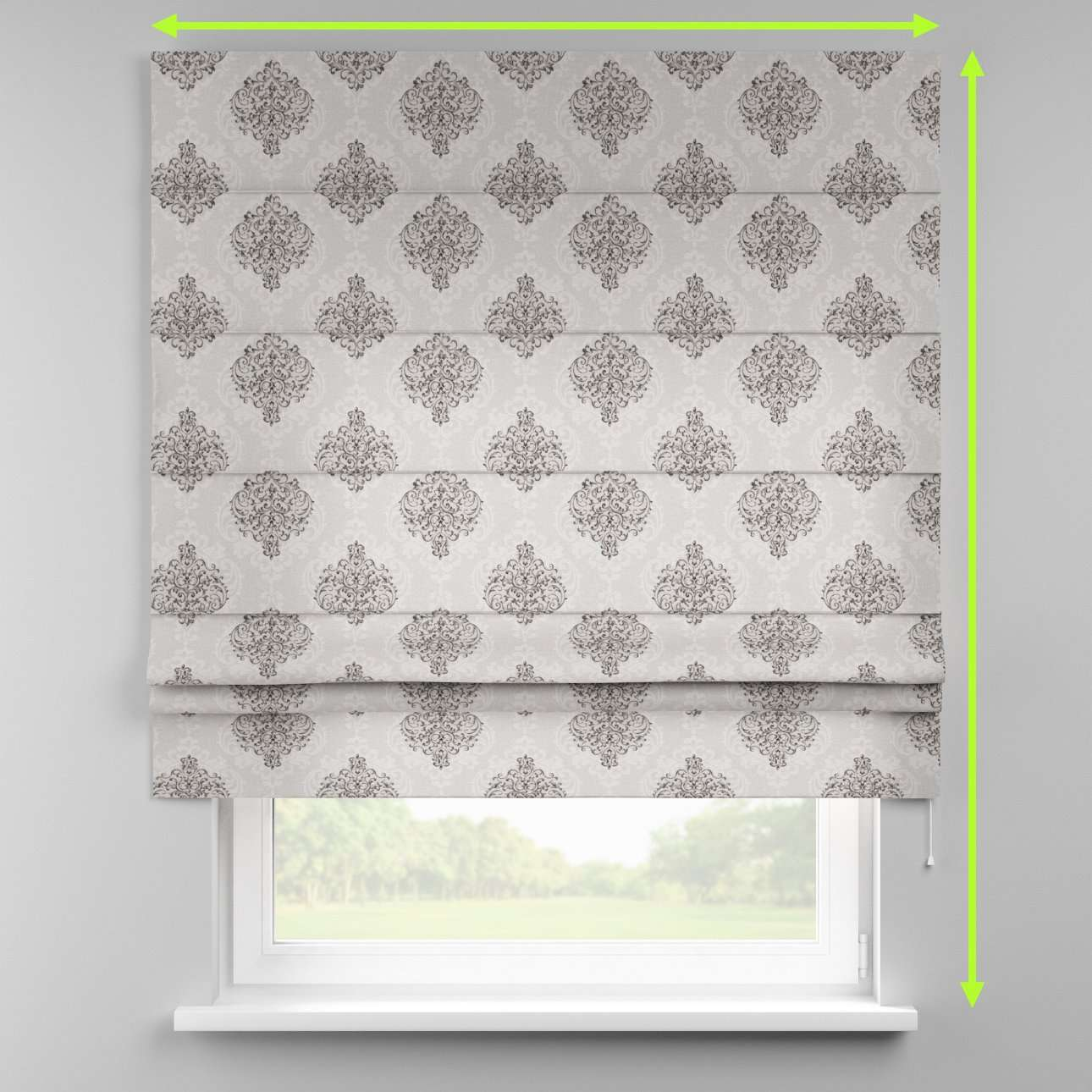 Padva roman blind  in collection Rustica, fabric: 138-16