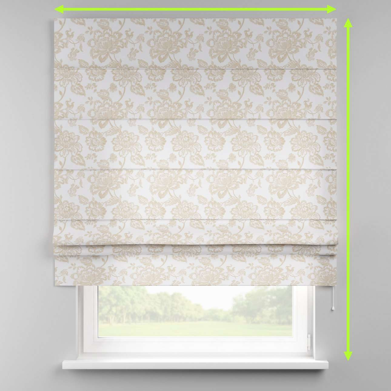 Padva roman blind  in collection Rustica, fabric: 138-23