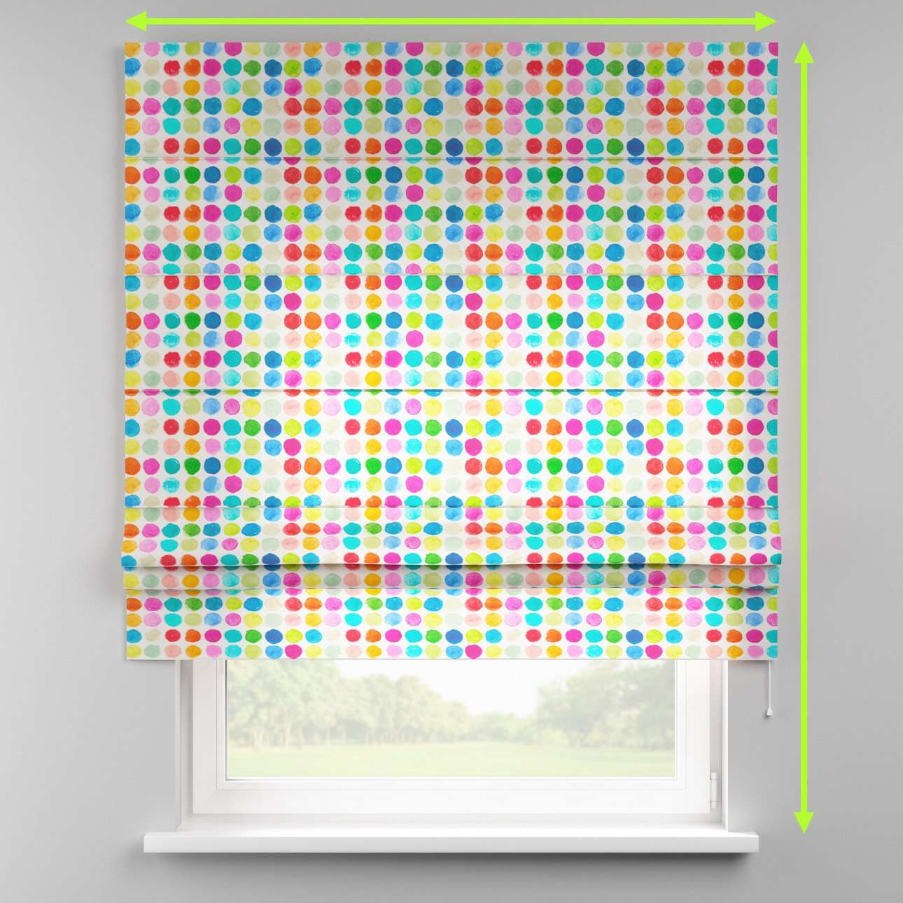 Padva roman blind  in collection New Art, fabric: 140-26