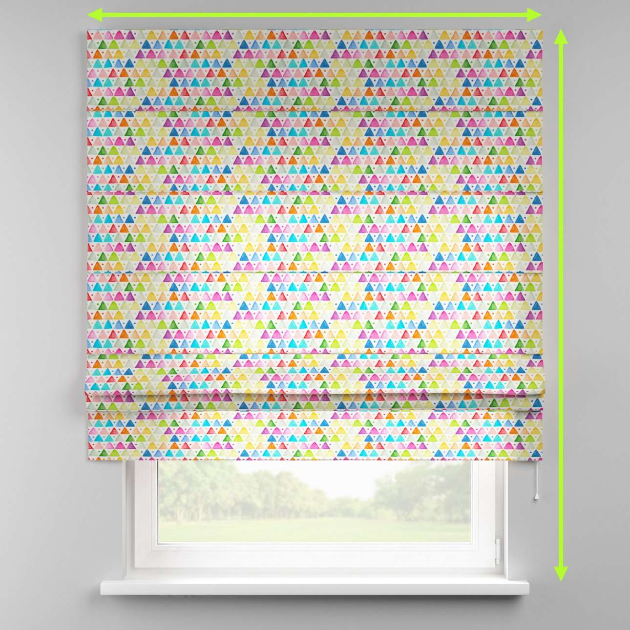 Padva roman blind  in collection New Art, fabric: 140-27