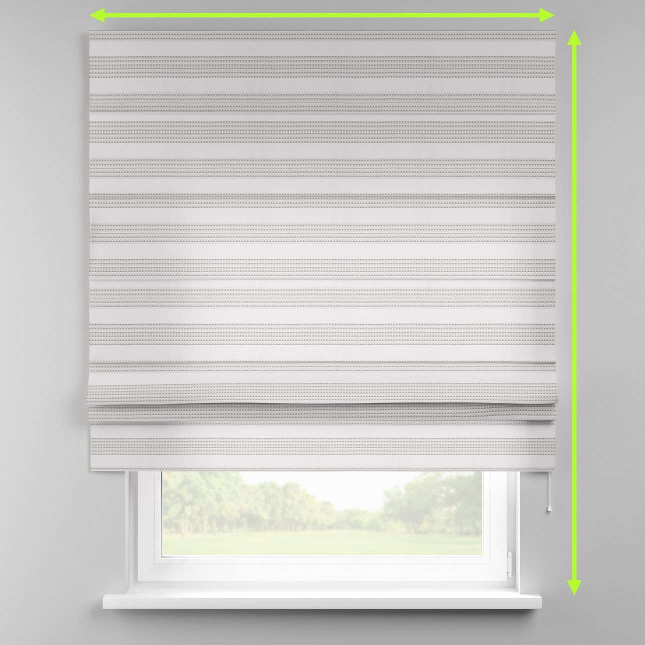 Padva roman blind  in collection Rustica, fabric: 140-32