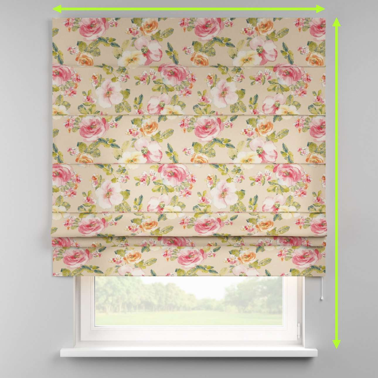 Padva roman blind  in collection Londres, fabric: 140-43